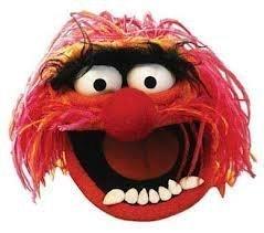 Animal Gesichtsmaske (Animal Muppets Maske)