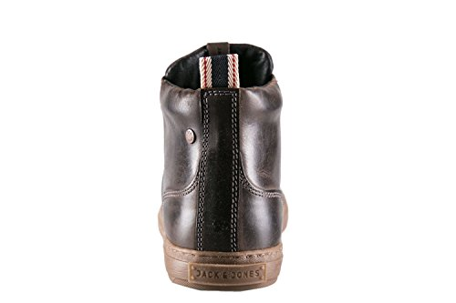 JACK JONES - Homme chaussures duran leather high sneaker Marron