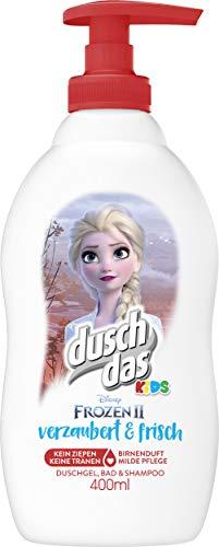 Duschdas Kids 3 in 1 Duschgel Bad Shampoo Frozen Verzaubert 400 ml, 6er Pack (6 x 400 ml)