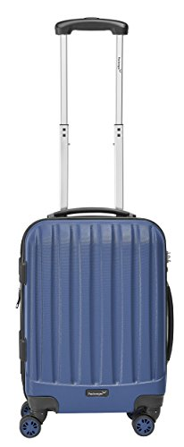 Packenger Velvet Koffer, Trolley, Hartschale 3er-Set in Atlantikblau, Größe M, L und XL - 6