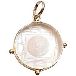 Ankita Gemstones Crystal Shree Yantra Pendant, Shree Yantra Pendant