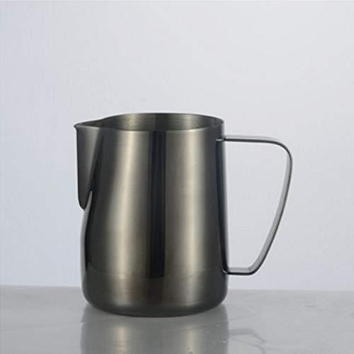ZSLDCNN 350/600 ml 304 Edelstahl Kaffee Milch Latte Aufschäumen Krug Ziehen Blume Tasse Barista Handwerk Kaffee Küche Esszimmer Bar Werkzeuge - 1067 Ziehen