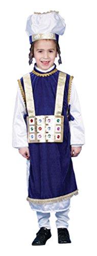 Priester Kostüm Hohe - Dress Up America Jüdischer Hohepriester-Kostüm-Satz für Kinder