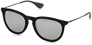 Ray-Ban - lunettes de soleil - RB4171 - Erika - Femme - Noir (Gestell: Schwarz, Gläser: Grau Verspiegelt 60756G) - 54 mm (B00I1LDC00) | Amazon price tracker / tracking, Amazon price history charts, Amazon price watches, Amazon price drop alerts