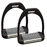 Shires cheese grater plastic stirrups with metal treads 5'