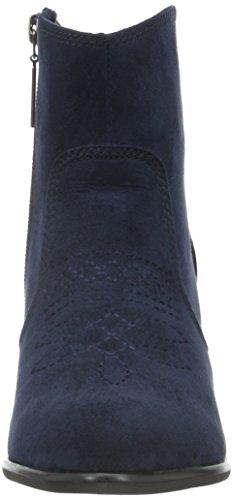 s.Oliver Damen 25328 Kurzschaft Stiefel Blau (Navy 805)