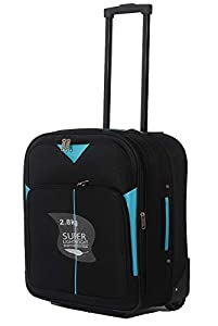 "Easyjet & RYANAIR 18"" & 21"" Cabin Hand Luggage Trolley Case Suitcase Wheeled Luggage"
