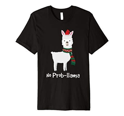 (Kein Prob-Lama-Weihnachten Shirt bestes Geschenk für Alpaka-)