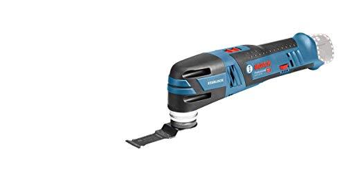 Bosch Professional 06018B5001 28 Multi Cutter GOP 12V-28 (ohne Akku,12 V, Leerlaufschwingzahl 5.000 - 20.000 min-1, im Karton), blau