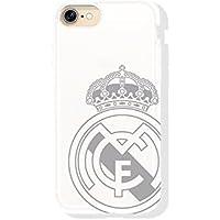 Real Madrid rmcar009Schutzhülle mit Wappen Apple iPhone 7, Weiß