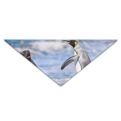 Lion Sea Kostüm - Gxdchfj Pet Triangle Bandana Animals Sea Lions Penguin Washable Dog Puppy Scarf Bib Babys Neckerchief Accessories