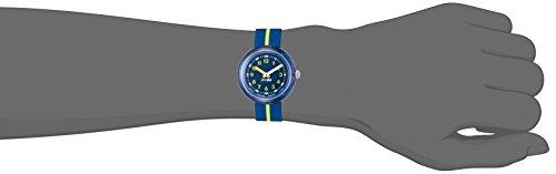 Flik Flak Mädchen Analog Quarz Uhr mit Stoff Armband FPNP023 - 4