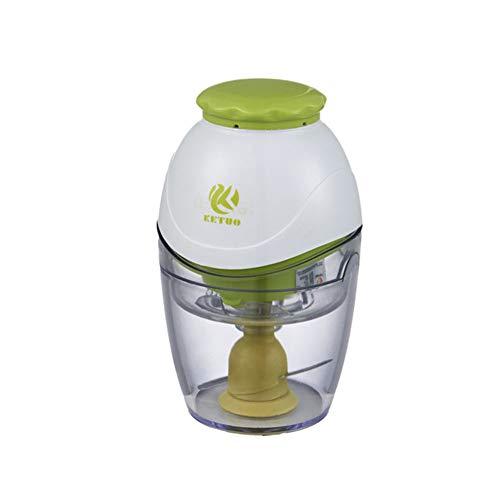 Mr. Fragile Tragbare Babynahrung Blender/Mixers, Multifunktions-Obst- und Gemüse-Entsafter, Babygeschenk, 600ml Tassen, 260W,Green