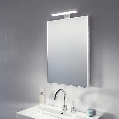 Diamond X Collection Elite Top Light LED Bathroom Mirror With Sensor,  Shaver Socket and Demister k482