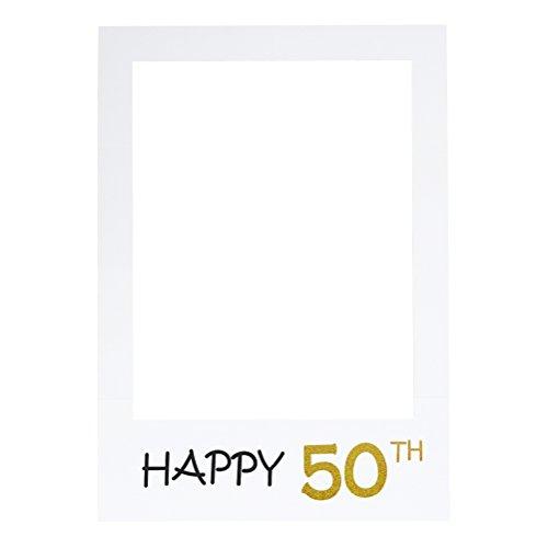LUOEM Marco cumpleaños Selfie Feliz 50 aniversario