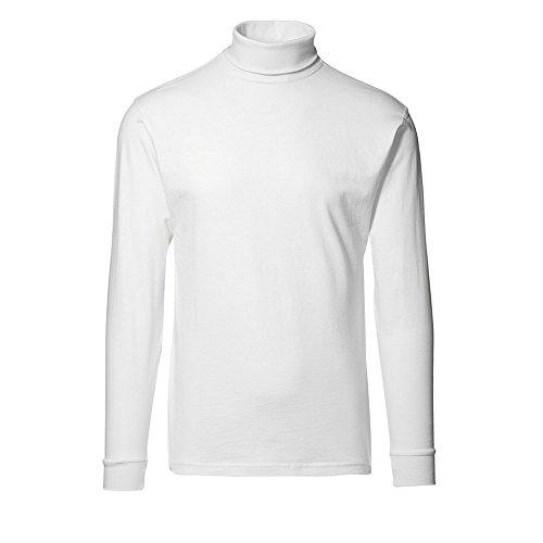 ID Identity Herren T-TIME T-Shirt | Rollkragen Weiß