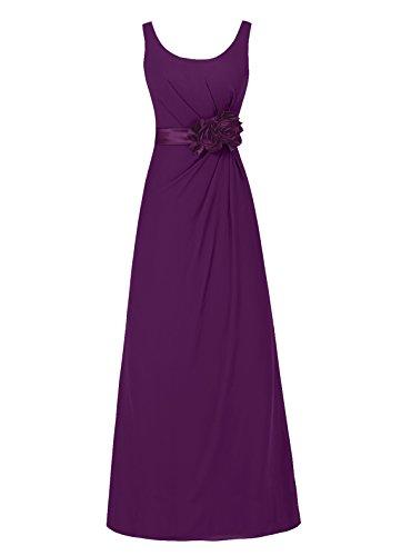 Dresstells, robe de soirée sans manches, robe longue de cérémonie, robe de demoiselle d'honneur Vert