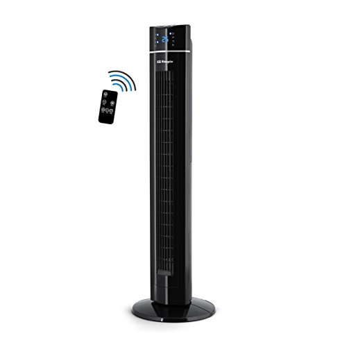 Orbegozo TWM 1009 - Ventilador de torre con mando a distancia, iónico, temporizador, 3 modos de funcionamiento...