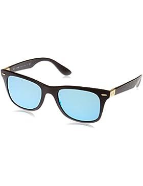 Ray-Ban Wayfarer Liteforce 631855, Gafas de Sol para Hombre, Matte Black, 52