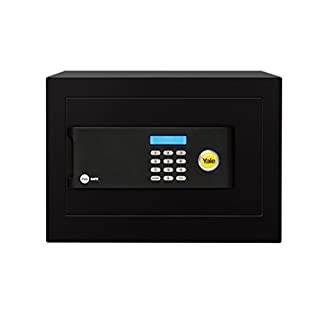Yale YSB/250/EB1 Premium Home Safe, Insurance Approved, 22 mm Motorised Locking Bolts, LCD Screen, 20 Litre Capacity