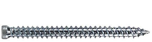 Fensterrahmenschraube, Zylinderkopf TX30, verzinkt blau 7.5x182 (100 ST)