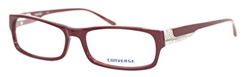 Ophthalmic Plastic Rechteck Eye Wear Frame Invent Burgund