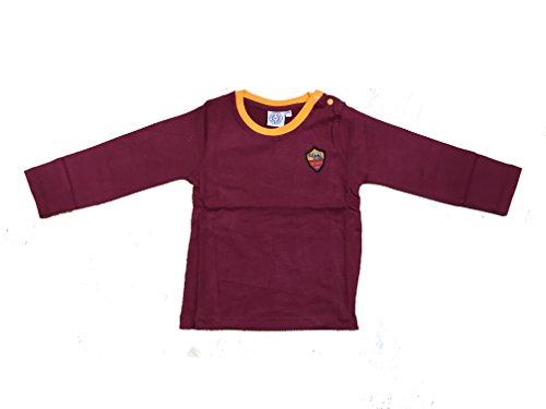 t-shirt-in-cotone-as-roma-ufficiale-neonato-12m