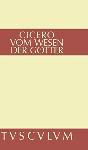 Vom Wesen der Götter: 3 Bücher. Lateinisch - deutsch (Sammlung Tusculum)