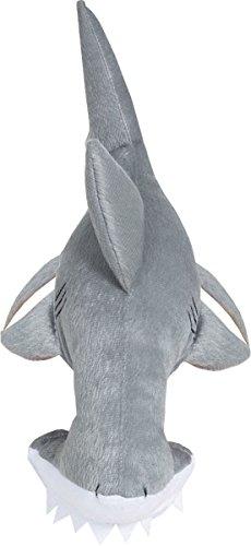 Erwachsene Party Kostüm Unter See Tier Hai Maske Auf Kopfband (Unter See Kostüm)