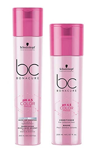 Schwarzkopf Bonacure Color Freeze Silber Shampoo 250 ml & Conditioner 200 ml