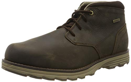 Caterpillar Footwear Herren Elude Wp Combat Boots, Braun (Dark Brown), 46 EU -