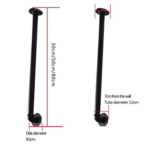 Preisvergleich Produktbild QOVCX Einfache Moderne Treppengeländer,  Schmiedeeiserne Zäune,  Nordische Landhauszäune,  Dachgeländer,  Robuste Hohe Tragfähigkeit,  Multi-Size Optional (größe : 80cm)