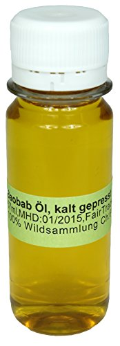 kalt gepresstes Baobaböl 100ml Organic & Fair Trade Baobab oil Öl