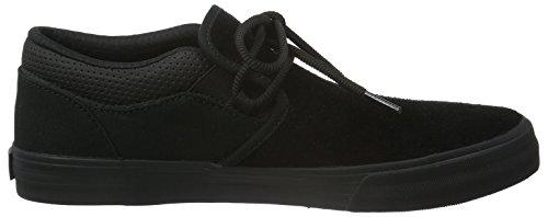 Supra Cuba, Sneakers Basses mixte adulte Noir (BLACK - BLACK RCS)