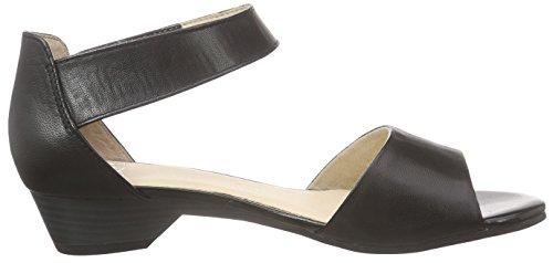 Caprice 28202, Sandales Bride cheville femme Noir (black Nappa 22)