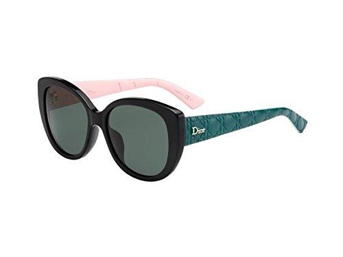 b58dffa632 Dior DIORLADY1R J4 GS7 Gafas de Sol, Negro (Black Green Pink/Grey)