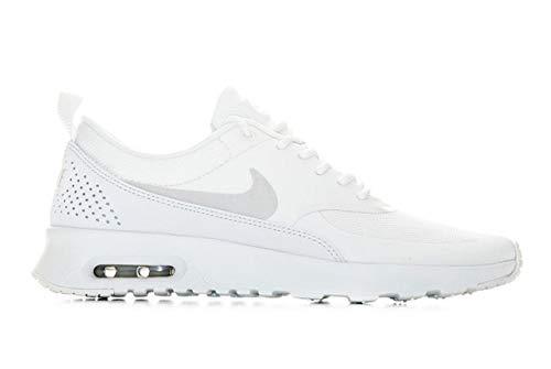 buy online 1b426 578cf Nike Damen Air Max Thea Leichtathletikschuhe, Mehrfarbig Platinum Tint  Summit White 000, 36 EU