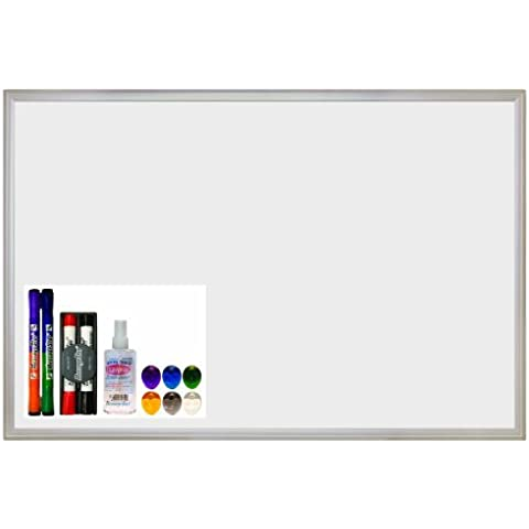 ECR4Kids Message Store Dry Erase Bulletin Board Set, 24 by 36 by ECR4Kids