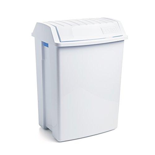 Papelera Basculante Blanca - TATAY - 1100901 - 49 L - 8411801100912