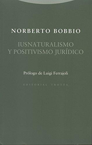 Iusnaturalismo y positivismo jurídico por Norberto Bobbio