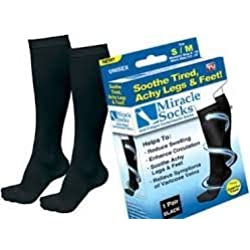 Miracle Socks-Calcetines de compresión Anti-Alimentos de fatiga mixtas Unisex