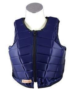 Racesafe Reitschutzweste RS2010Riding Body Displayschutzfolie marineblau-wählen Sie Größe, blau, Adult Ladies Fit Large