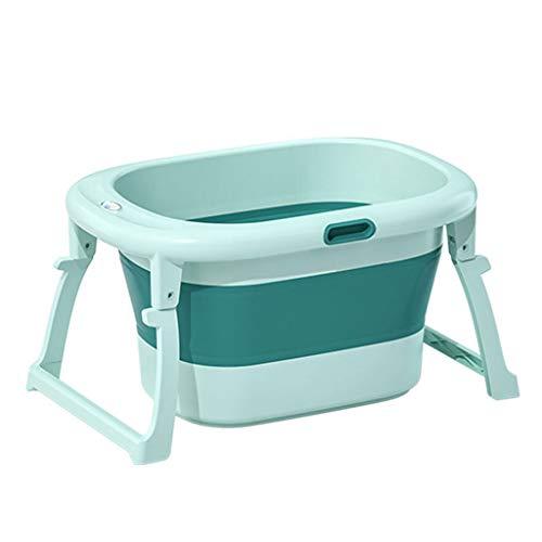 Bañera Bebe Bañera for bebés plegable Bañera con bañera de bebé baño de niño barril del baño...