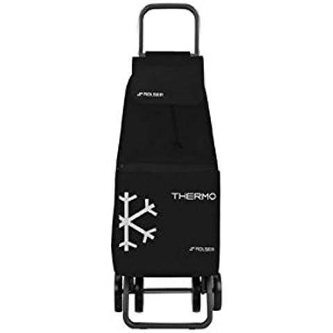Rolser M284735 - Carro compra 2+2 termo saquet termo negro