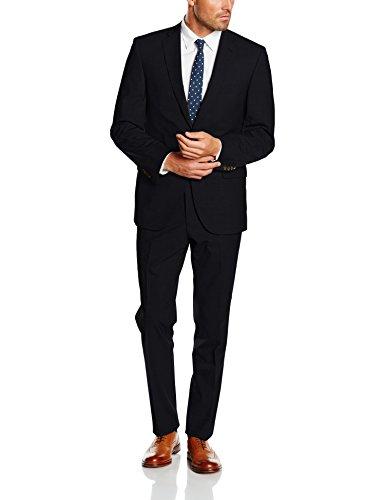 Baumler Slim Fit Plain Suit, Costume Homme Bleu Marine