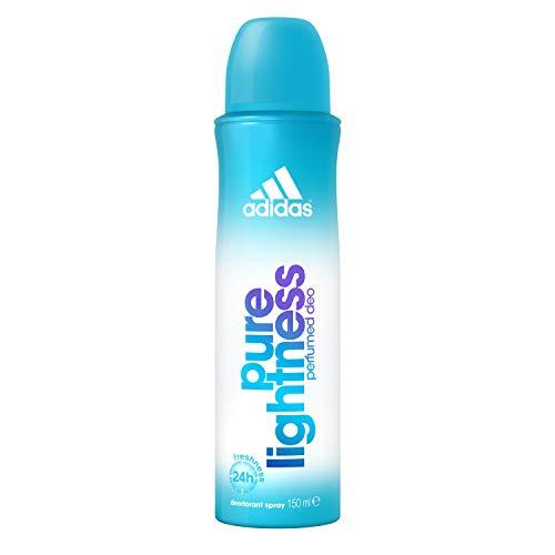 adidas Pure Lightness Deodorant - Deospray für Damen mit fruchtig-floralem Duft - Verleiht eine vitale, feminine Aura - 1 x 150 ml