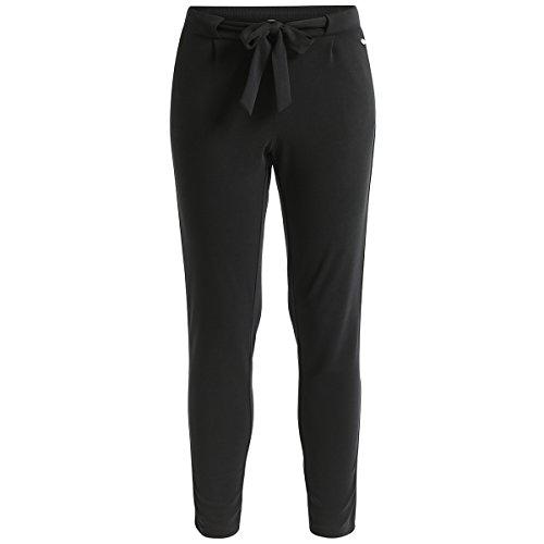 Deik&Dunes Milia - Cupro Hose in schwarz, Größe XL