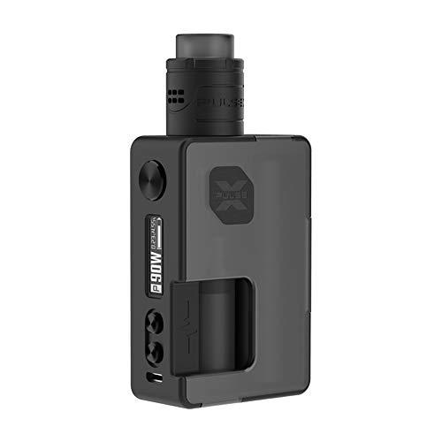 VandyVape Pulse X BF Kit 90W Box Mod Cigarrillo Electrónico,Pulse X RDA  Botella 8ml Squonk Adaptador de Batería 18650 - Sin Nicotina y Sin  E-líquido