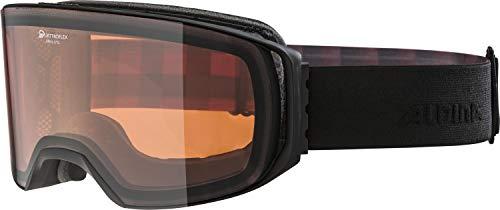 ALPINA Erwachsene Arris QH Skibrille, Black matt, One Size