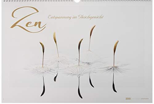 Zen 2019 - Bildkalender quer (49 x 34) - Naturkalender - Wandkalender